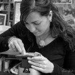 Miriam Hanid engraving