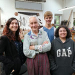 Miriam_Hanid_Malcolm Appleby and Interns
